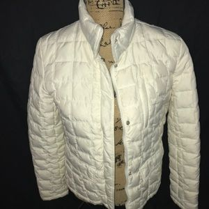 Kenneth Cole Reaction wht puffer coat size medium